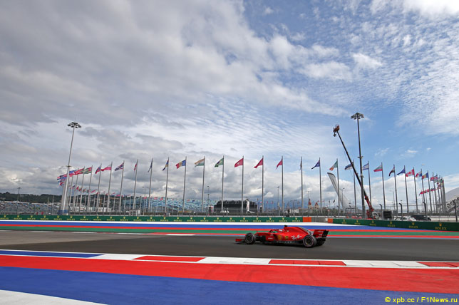 Гран При России: Изменения на трассе и зоны DRS