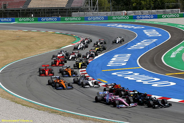 Старт Гран При Испании