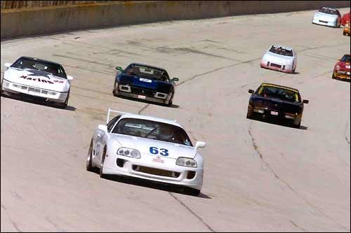 Клубные гонки, организованные SCCA
