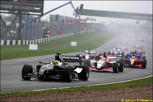 Донингтон-парк: гонка серии Superleague, 2008 год