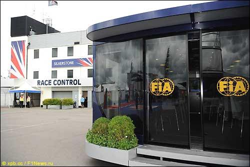 Моторхоум FIA в Сильверстоуне