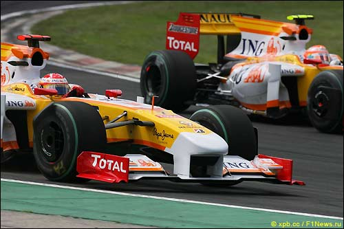 Renault. Гран При Венгрии
