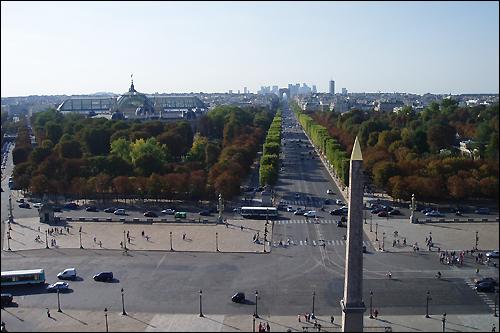 Париж, площадь Согласия