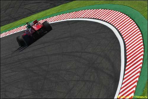 Фернандо Алонсо на прошлогоднем Гран При Японии
