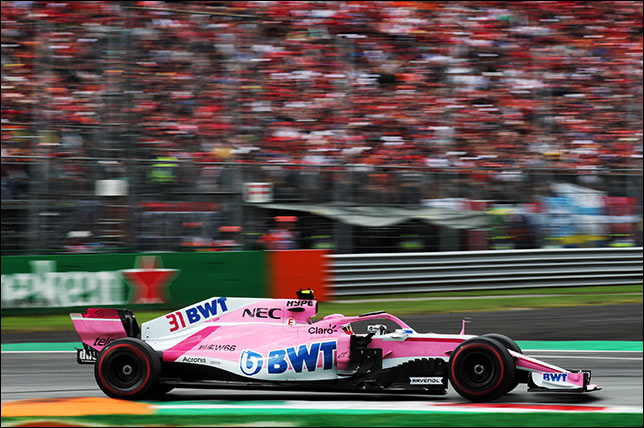 Force India. (с) Racing Point Force India F1 Team