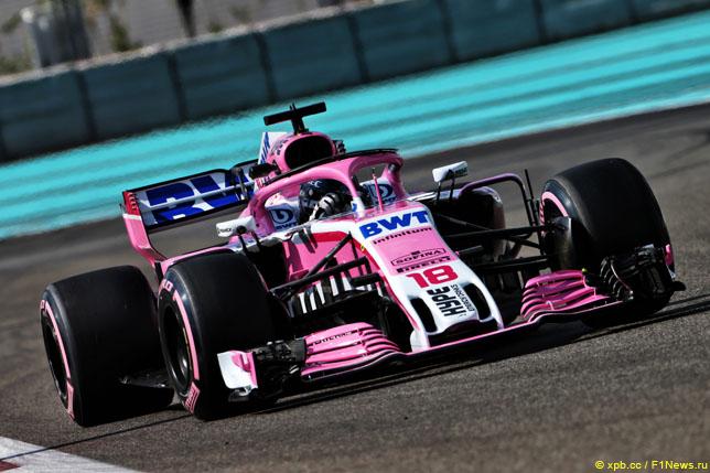 Лэнс Стролл за рулем Force India