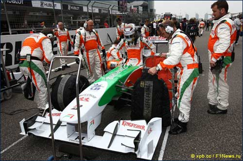 Механики и инженеры Force India еще не знают, что их ждёт