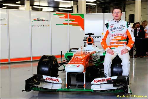 Пол ди Реста и Force India VJM06
