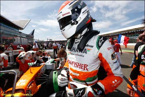 Force India. Адриан Сутил