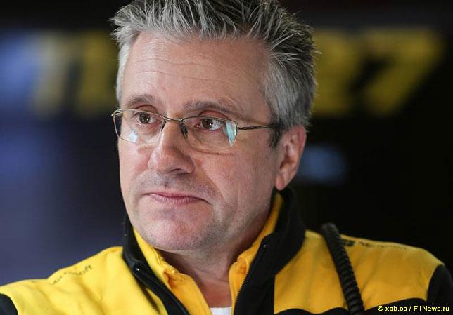 Пэт Фрай, технический директор Renault F1, отвечающий за разработку шасси
