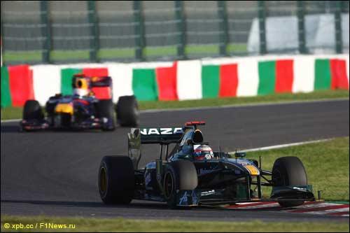 Ярно Трулли на трассе Гран При Японии