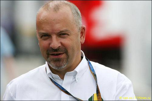 Технический руководитель Caterham F1 Team Майк Гаскойн