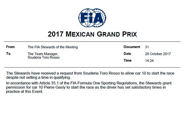 Пьер Гасли: сначала Гран-при Мексики это какое-то сумасшествие