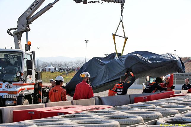 Эвакуация машины Пьера Гасли