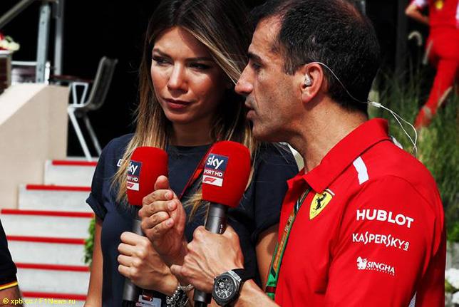 Марк Жене комментирует гонки в составе бригады Sky Italia
