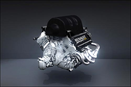 Двигатель Renault V6 2014 года