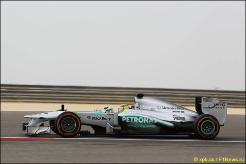 Нико Росберг на Гран При Бахрейна