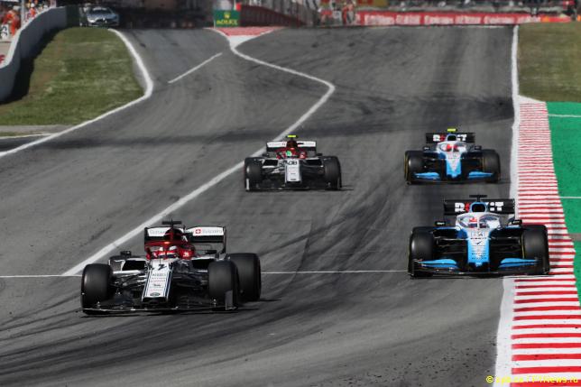 Гран При Испании. Борьба Alfa Romeo и Williams