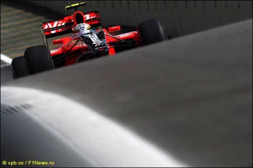 Жером Д'Амброзио на пятничных тренировках Гран При Бразилии