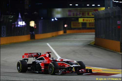 Тимо Глок на Гран При Сингапура