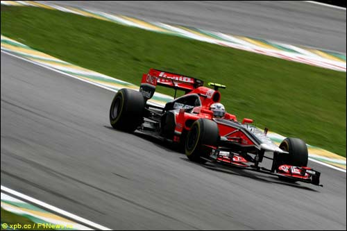 Жером Д'Амброзио на Гран При Бразилии