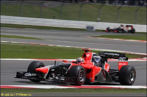 Тимо Глок на Гран При Великобритании