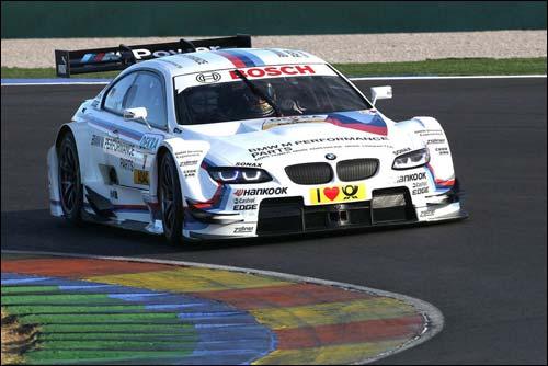 Тимо Глок за рулём машины BMW M3