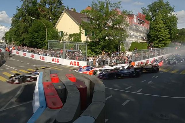 Завалы на узких городских трассах Формулы E - обычное дело