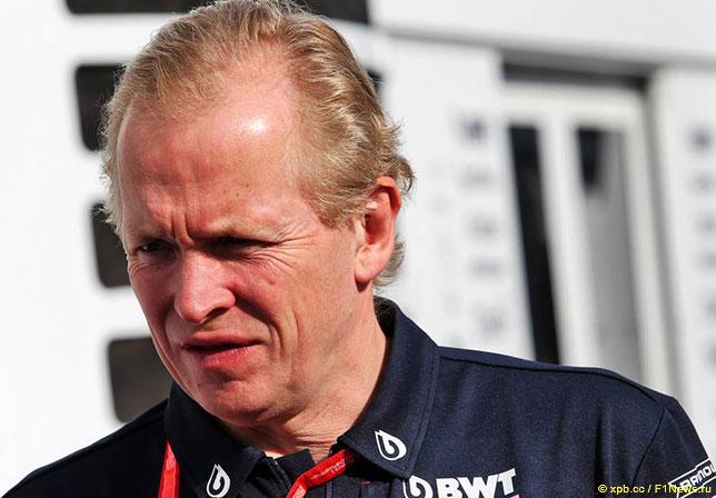 Энди Грин, технический директор Racing Point