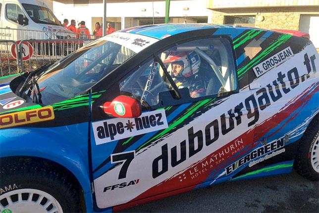 Роман Грожан за рулём Renault Clio команды DA Racing