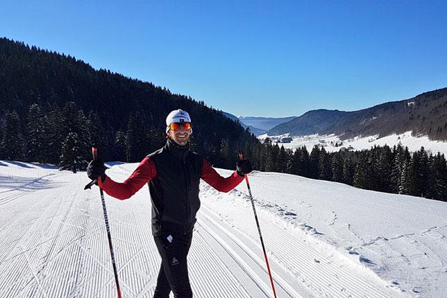 В межсезонье Роман Грожан интенсивно тренировался, в том числе на лыжах
