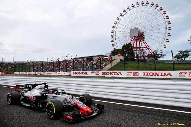 Гран При Японии. Роман Грожан