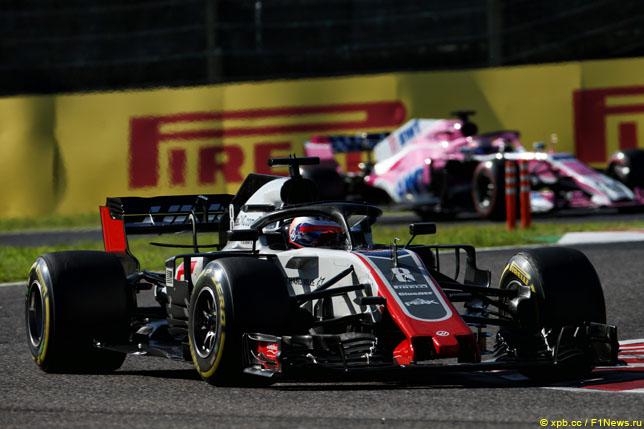 Роман Грожан на Гран При Японии