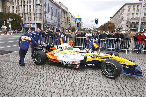 Программа Renault Roadshow в Киеве
