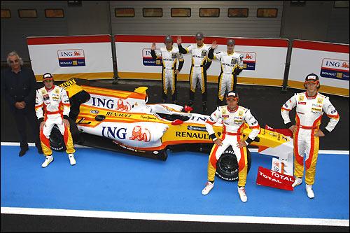 Гонщики Renault