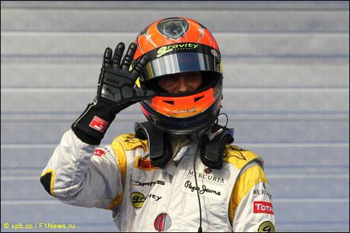 Чемпион GP2 Роман Грожан