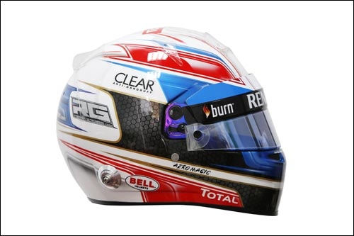 Новый дизайн шлема Романа Грожана