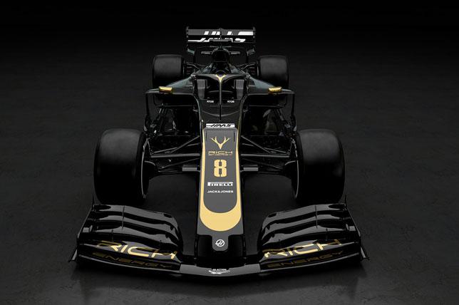 Новые цвета команды Haas