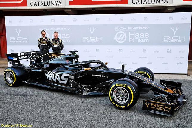 Haas VF-19, машина 2019 года
