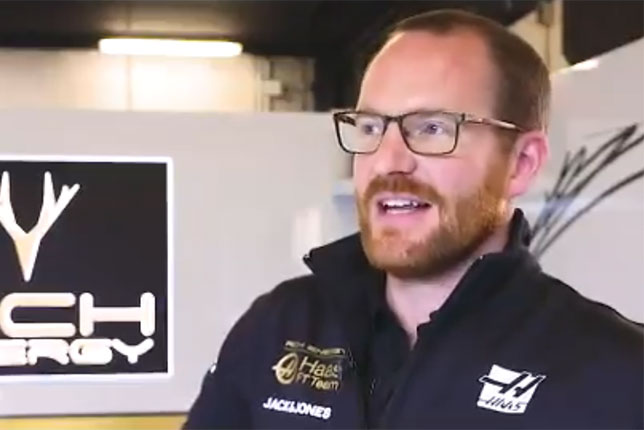 Мэтт Скотт, главный механик Haas F1
