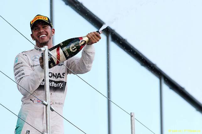 Льюис Хэмилтон - победитель Гран При Японии