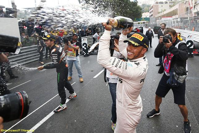 Льюис Хэмилтон - победитель Гран При Монако