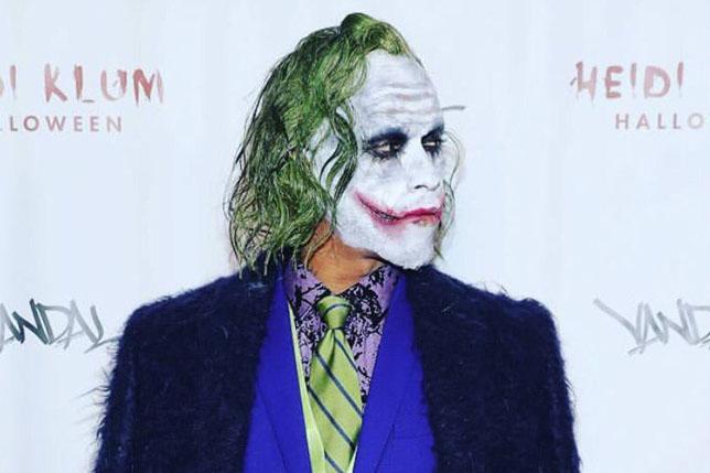 Льюис Хэмилтон в образе Джокера