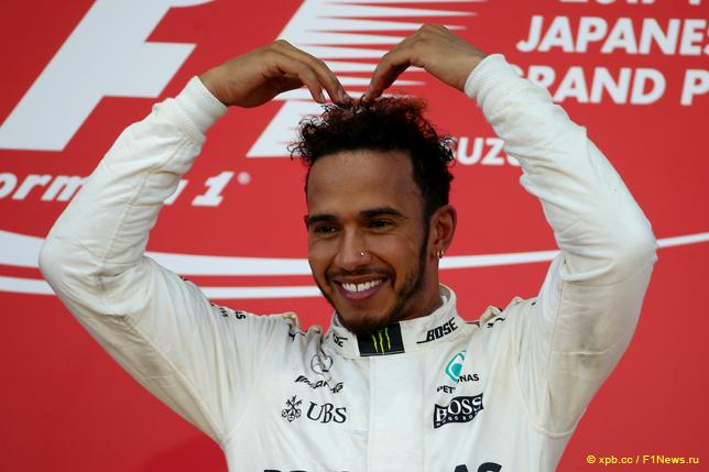Гран При Японии. Льюис Хэмилтон