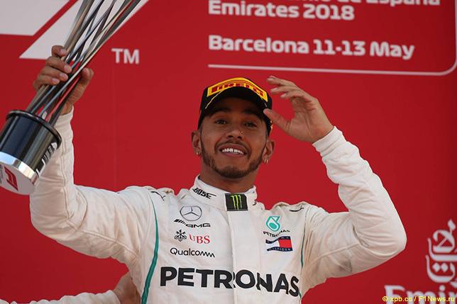 Льюис Хэмилтон - победитель Гран При Испании
