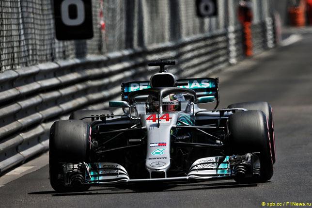 Даниэль Риккьярдо одержал победу  квалификацию Гран-при Монако «Формулы-1»