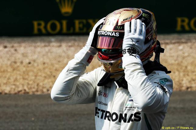 Хэмилтон одержал победу квалификацию Гран-при Англии