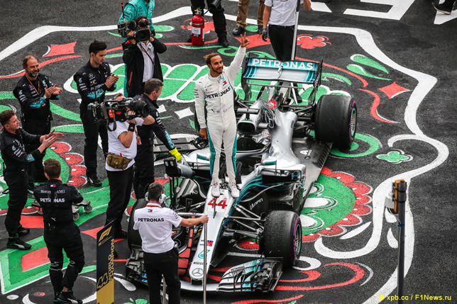 Гран При Мексики. Льюис Хэмилтон