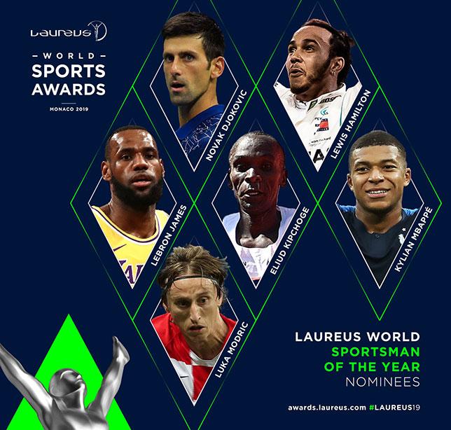Льюис Хэмилтон вошел в шестёрку претендентов на звание «Лучший спортсмен года»