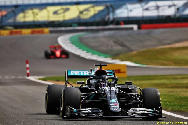 Гран При 70-летия Формулы 1. Льюис Хэмилтон